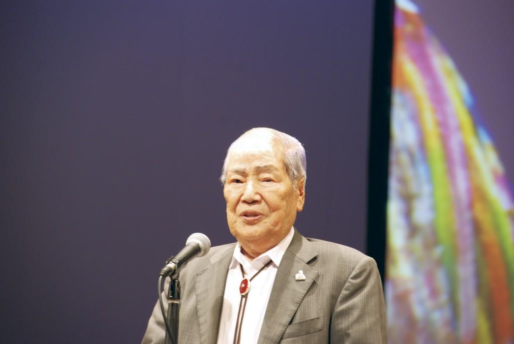 坪井 直さん 8月6日、原子爆弾で大けがをした坪井さんは、救援に来た軽トラックで病院に搬送され、一命をとりとめた。