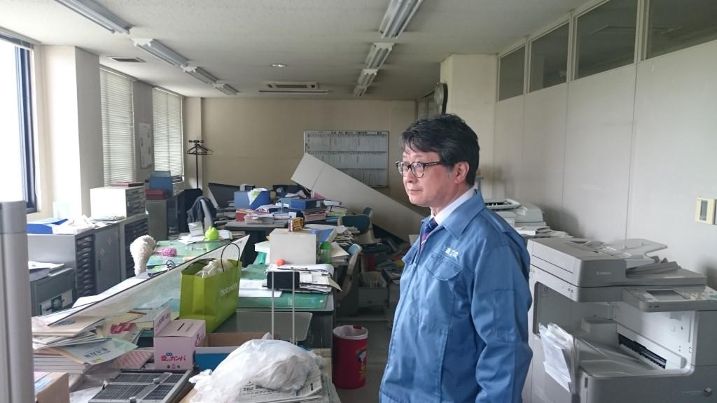 連合熊本オフィスにて